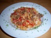 Bellpepper recipe with rice and ground beef