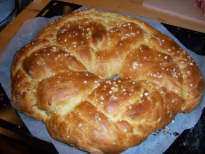 Easter bread or Yeast bread