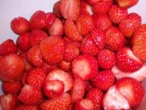 German Strawberry jam