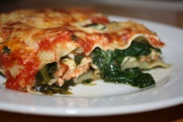 Salmon Lasagna