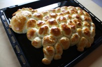 Easter bread recipe - Osterlamm