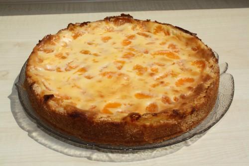 ^Sour creme tangerine cake