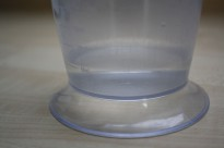 Water in a measuring cup